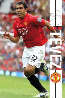 "Carlos Tevez ""Signature Action"" - GB Posters 2007"