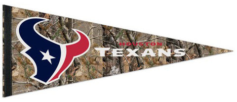 "Houston Texans ""Backwoods"" Premium Felt Pennant - Wincraft Inc."