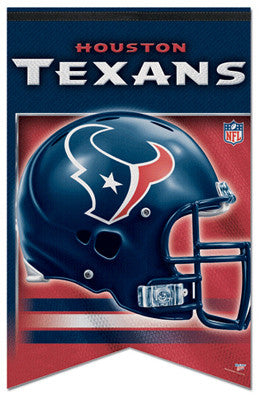 Houston Texans NFL Football Premium Felt Banner - Wincraft Inc.