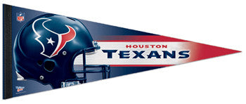 Houston Texans Official NFL Helmet Logo Premium Felt Collector's Pennant - Wincraft