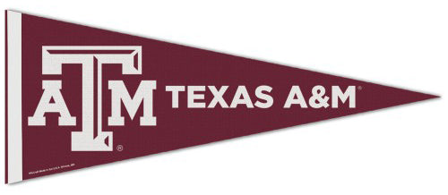 Texas A&M Aggies NCAA Athletics Premium Felt Collector's Pennant - Wincraft Inc.