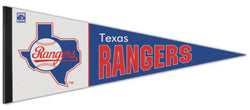 Texas Rangers Cooperstown Collection 1980s-Style Premium Felt Pennant - Wincraft Inc.