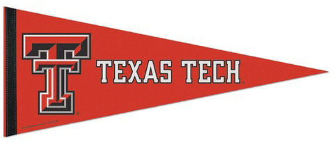 Texas Tech Red Raiders Official NCAA Team Logo Premium Felt Pennant - Wincraft Inc.