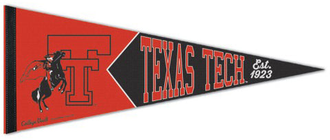 Texas Tech Red Raiders NCAA College Vault 1980s-Style Premium Felt Collector's Pennant - Wincraft Inc.
