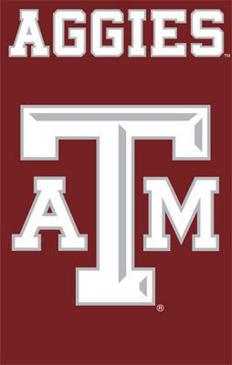 Texas A&M Aggies Premium Applique Banner - Party Animal Inc.