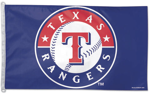 Texas Rangers Official MLB 3'x5' Flag - Wincraft Inc.