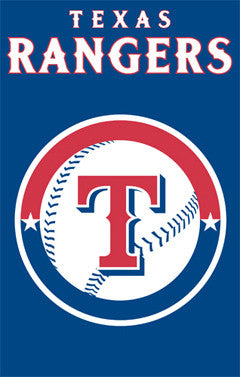 Texas Rangers Official Team Applique Banner - Party Animal