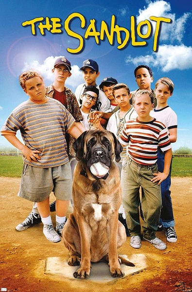 "The Sandlot (1993) Baseball Movie ""The Team"" Poster - Trends International"