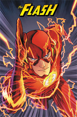 THE FLASH DC Comics Superhero Poster (Vol. 4 #1 Nov. 2011 Cover Art) - Trends International