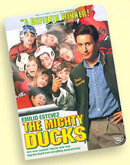 "DVD: ""The Mighty Ducks"" (1992) - Buena Vista/Disney"