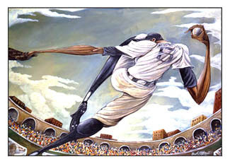 """The Pitch"" - Frank Morrison 2002"