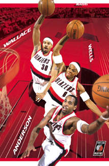 "Portland Trail Blazers ""Triple Action"" - Costacos 2003"