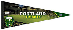 "MLS Portland Timbers ""Gameday"" Premium Felt Collector's Pennant - Wincraft"