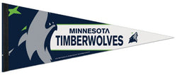 Minnesota Timberwolves Official Team Logo Premium NBA Felt Pennant (2017) - Wincraft Inc.