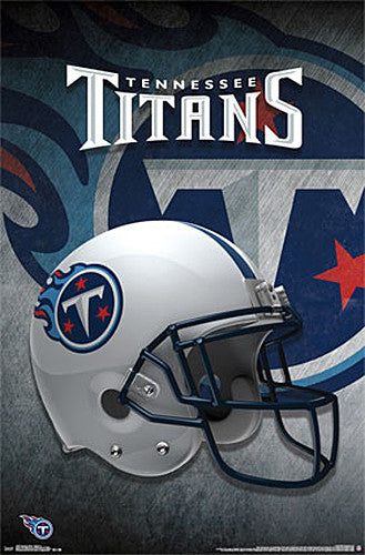 Tennessee Titans Official NFL Team Helmet Logo Wall Poster - Trends International