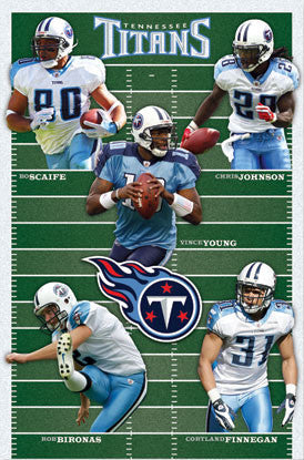 "Tennessee Titans ""Gridiron Five"" (2010) - Costacos Sports"