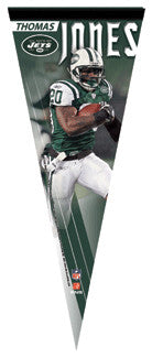 "Thomas Jones ""Action"" Premium Felt Collector's Pennant (L.E. /2,008)"