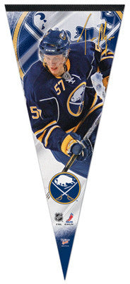 "Tyler Myers ""BIG-TIME"" Extra-Large Premium Felt Collector's Pennant"