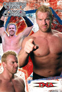 Christian Cage TNA Wrestling Superstar Action Poster - Aquarius 2007
