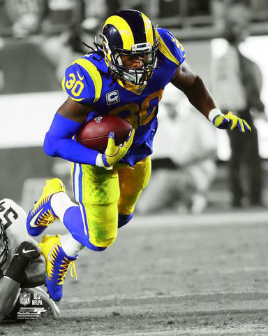 "Todd Gurley ""Spotlight"" Los Angeles Rams Running Back Premium Poster Print - Photofile 16x20"