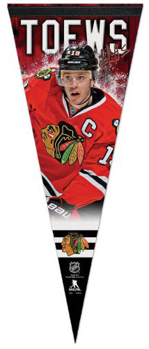 "Jonathan Toews ""Signature Series"" Chicago Blackhawks Premium Felt Pennant - Wincraft 2015"