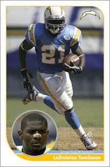 "LaDainian Tomlinson ""Old School"" San Diego Chargers Poster - Costacos 2004"