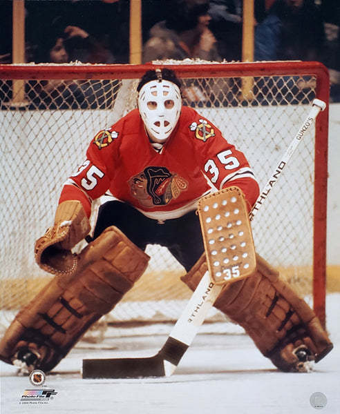 "Tony Esposito ""Classic"" (c.1972) Chicago Blackhawks Premium Poster Print - Photofile Inc."