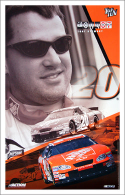 "Tony Stewart ""Top Ten 2003"" Home Depot #20 Premium NASCAR Poster - Action Collectables"