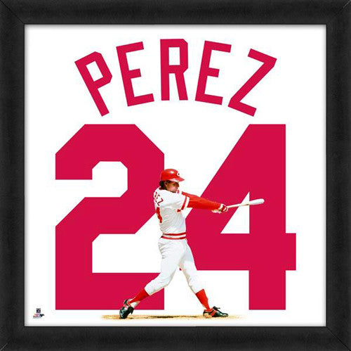 "Tony Perez ""Number 24"" Cincinnati Reds FRAMED 20x20 UNIFRAME PRINT - Photofile"
