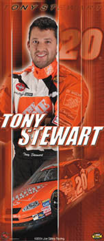 "Tony Stewart ""Superstar"" - Racing Reflections 2004"