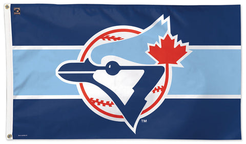 Toronto Blue Jays Original Style (1977-96) Cooperstown Collection MLB Baseball Deluxe-Edition 3'x5' Flag - Wincraft