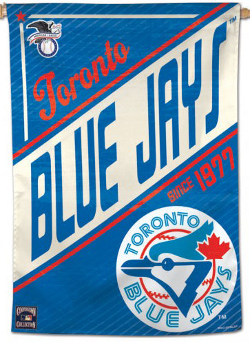 "Toronto Blue Jays ""Since 1977"" Cooperstown Collection Premium 28x40 Wall Banner - Wincraft Inc."