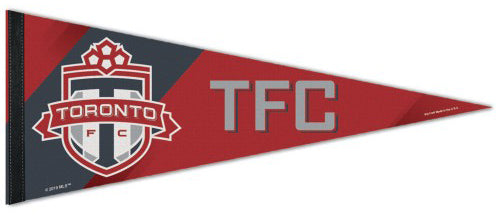Toronto FC Official TFC MLS Soccer Premium Felt Collector's Pennant - Wincraft Inc.
