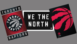 Toronto Raptors NBA Basketball Official 3-Poster Logo-Styles Combo Set - Trends International