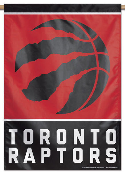Toronto Raptors Official NBA Basketball Premium 28x40 Team Logo Wall Banner - Wincraft Inc.