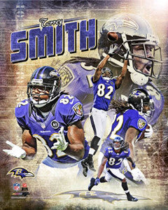 "Torrey Smith ""Portrait Plus"" Baltimore Ravens Premium Poster Print - Photofile 16x20"