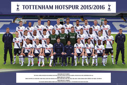 Tottenham Hotspur FC Official Team Portrait 2015/16 Poster - GB Eye (UK)