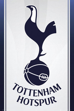 Tottenham Hotspur FC Official Team Crest Logo Poster - GB Eye (UK)