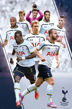 "Tottenham Hotspur FC ""Super Eight"" EPL Soccer Action Poster - GB Eye (UK)"
