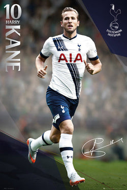 "Harry Kane ""Signature Series"" Tottenham Hotspur FC Official EPL Football Poster - GB Eye 2015/16"
