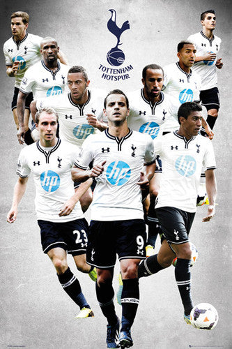 "Tottenham Hotspur ""9 Stars"" 2013/14 Soccer Action Poster - GB Eye (UK)"