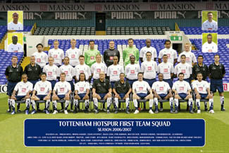 Tottenham Hotspur Official Team Portrait 2006/07 - GB