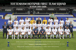Tottenham Hotspur Official Team Portrait 2007/08 - GB Poster