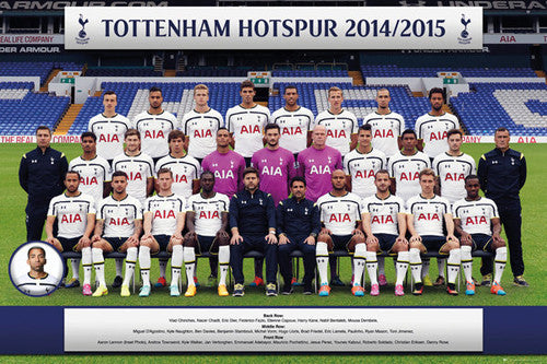Tottenham Hotspur FC Official Team Portrait 2014/15 Poster - GB Eye (UK)