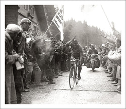 "Vintage Tour de France ""Bartali Wins"" (1949 Mountain Stage Victory) Poster Print - Presse'e Sports"