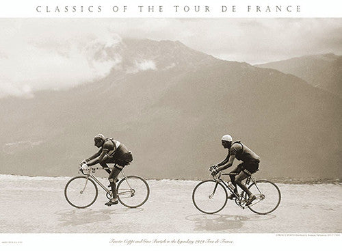 "Vintage Tour de France ""The Legendary 1949 Tour"" (Coppi and Bartali) - Presse'e Sports"