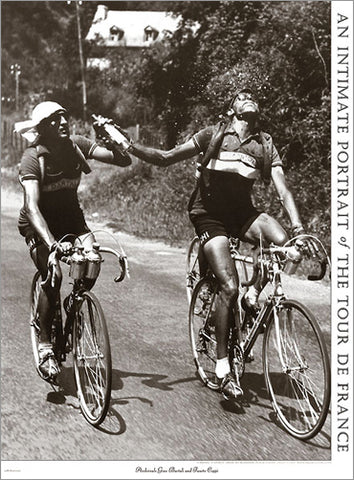 "Vintage Tour de France ""Archrivals Bartali and Coppi"" Poster Print - Presse 'e Sports"