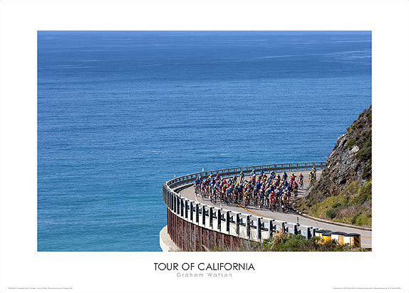 "Tour of California ""Highway 1"" Premium Poster Print - Graham Watson 2006"