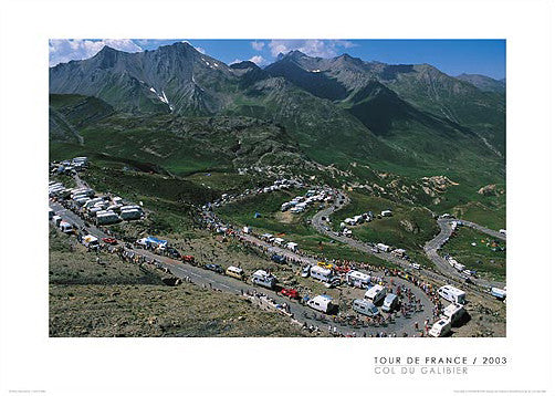 "Tour de France ""Cycling's Arena"" (Galibier Pass) - Graham Watson"