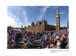 "Tour de France ""London"" Premium Cycling Poster Print - Graham Watson 2007"